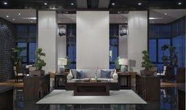 Vida ou sala de estar Imagens de Stock Royalty Free