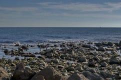 Vida pelo litoral no Mar Negro Nessebar, fotos de stock royalty free