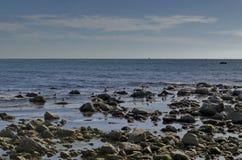 Vida pelo litoral no Mar Negro Nessebar, imagens de stock royalty free