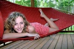 Vida perezosa del verano Imagen de archivo libre de regalías