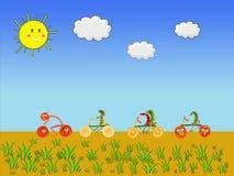 Vida saudável para um planeta verde imagem de stock