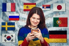 Vida social fotografía de archivo libre de regalías