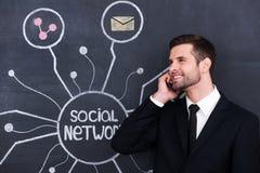 Vida social ativa fotos de stock