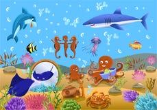 Vida submarina Ilustração Royalty Free