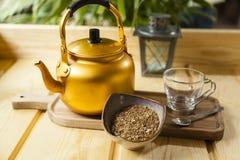 Vida temperada árabe do café ainda imagens de stock