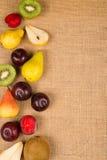 Vida todavía de la fruta fresca Fotografía de archivo