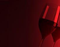 Vida todavía del vino rojo libre illustration