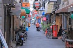 Vida tradicional Osaka Japan Fotos de archivo libres de regalías
