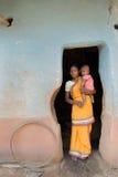 Vida tribal de la India Imagen de archivo libre de regalías