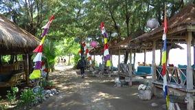Vida tropical rústica de la isla metrajes