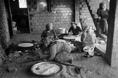 Vida turca del pueblo Imagen de archivo libre de regalías