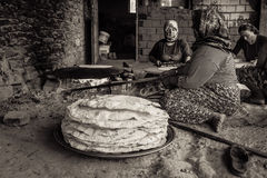 Vida turca del pueblo Fotos de archivo libres de regalías