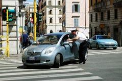Vida urbana de Roma Vista da cidade de Roma o 1º de junho de 2014 Imagem de Stock