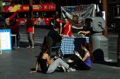 Vida urbana em Sevilha 10 Fotos de Stock