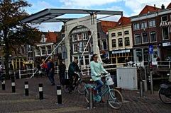 Vida urbana en Alkmaar 22 Imagen de archivo libre de regalías