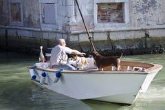 Vida veneciana Fotografía de archivo