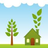 Vida verde ilustración del vector