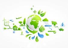 Vida verde stock de ilustración