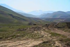 Vida y campo de Afganistán imagenes de archivo
