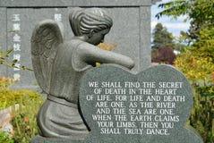 Vida y muerte Imagen de archivo libre de regalías