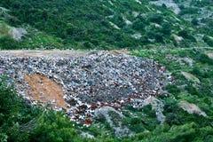 Vidage mémoire d'ordures photo libre de droits