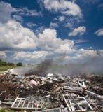 Vidage mémoire d'ordures Photo stock