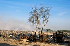 Vidage mémoire d'ordures Image libre de droits