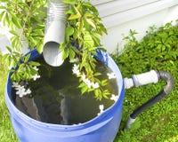 Vidangez pour l'eau de pluie Image stock