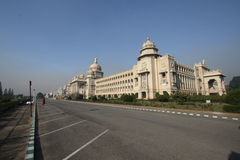 Vidansoudha. Vidhan soudha building in bangalore Royalty Free Stock Photos