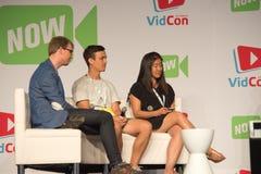 VidCon 2015 Zdjęcie Stock