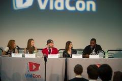 VidCon 2015 Lizenzfreie Stockbilder