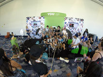 VidCon 2015年 库存照片