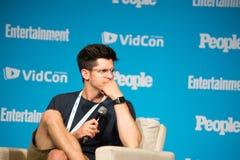 VidCon 2015 Imagenes de archivo