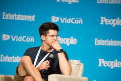 VidCon 2015年 库存图片