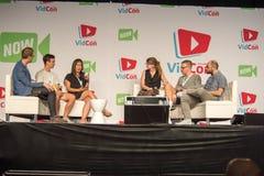 VidCon 2015 Stock Photos