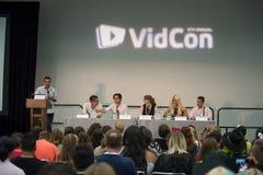 VidCon 2015 Stock Image
