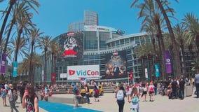 Vidcon 2016 stock video footage