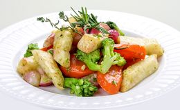 Vide овощей sous стоковые фотографии rf