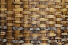 Vide- bambumodellbakgrund Royaltyfri Fotografi