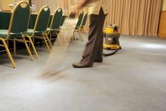 Vide de tache floue de mouvement sur le tapis Photos stock