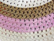 Vide- hatt av sugrör Royaltyfria Bilder
