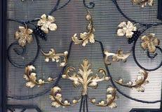 Videira, ramo, feito, ferro Imagem de Stock Royalty Free
