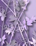 Videiras roxas Imagem de Stock Royalty Free