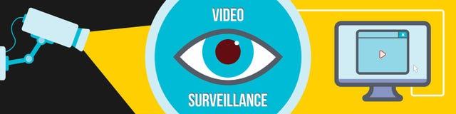 Videoüberwachung Stockbild