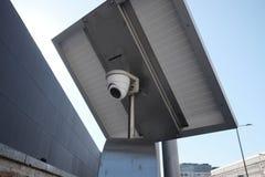 Videoüberwachungssystem mit Solargebühr Lizenzfreie Stockfotos