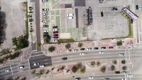Video aereo Miami del centro Florida video d archivio