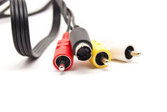 Free Video And Audio Connectors Royalty Free Stock Photography - 14455047