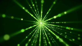 Video animation of light beams. Video animation blue light beams - abstract backgound stock footage