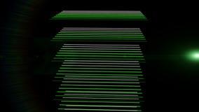 Video animazione futuristica, ciclo HD 1080p royalty illustrazione gratis