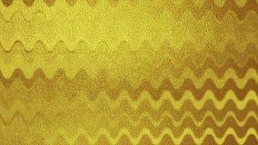 Video animazione ondulata astratta di lusso dorata illustrazione vettoriale